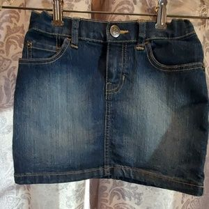 Children's Place Denim skirt size 6X-7